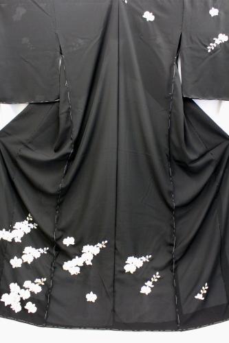 最高級正絹夏物訪問着「刺繍 胡蝶蘭」