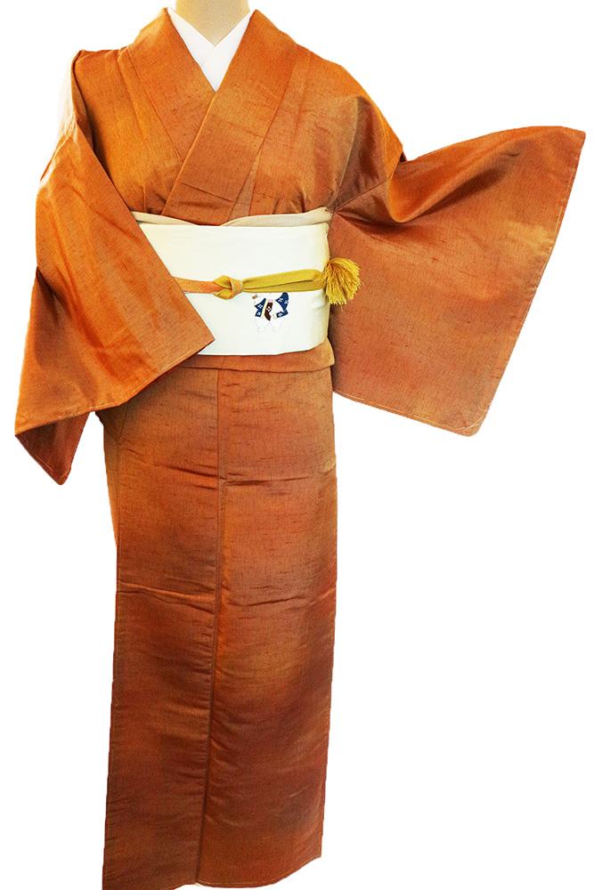 正絹紬レンタルフルセット「ぼかし」