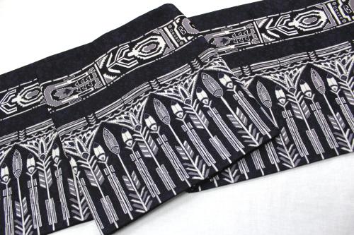 西陣織京洛苑たはら謹製袋帯「幾何学」