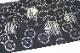 西陣織京都イシハラ謹製 夏物絽九寸名古屋帯「七宝に楕円」