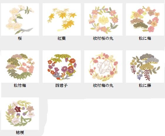 加賀紋(華紋) 1ツ紋入れ(仕立上り品)