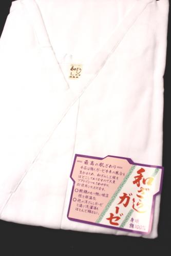 日本製 ガーゼ肌襦袢