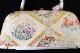 西陣織謹製 最高級草履バッグ「Lサイズ/菱取四季の花」