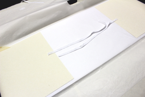 最高級和紙たとう紙 窓・薄紙・台紙付き(2つ折り用)