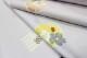 西陣織丸福織物謹製 九寸名古屋帯「雪輪に桜と源氏香」