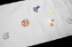 西陣織丸福織物謹製 九寸名古屋帯「雪輪に兎と千鳥と花」