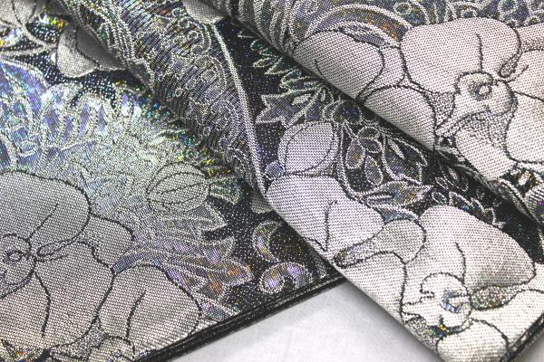 西陣織大光謹製袋帯「胡蝶蘭」