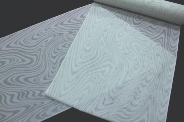 西陣織謹製 夏物紋紗着尺「幾何学」