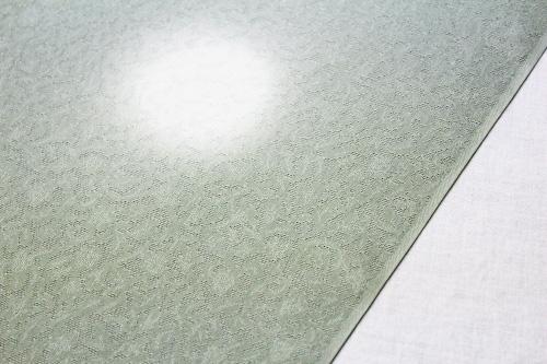 正絹の夏物紋紗着尺「唐草の地紋に蛍ぼかし」
