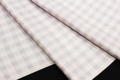 最高級正絹小紋「モダン格子」