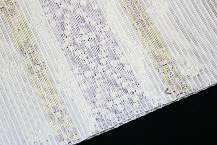 西陣織橋本テル織物謹製 夏物絽九寸名古屋帯「南風」