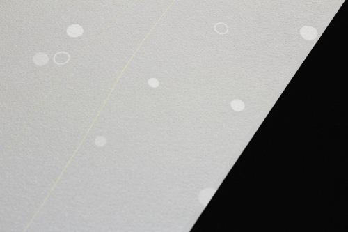 最高級正絹小紋「流線に水玉」