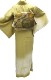 ※作り帯付 正絹訪問着レンタルフルセット「ぼかしに白樺の縫取」