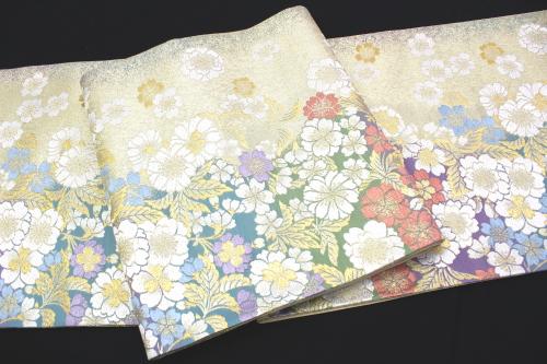 西陣織宮田織物謹製 袋帯「桜」
