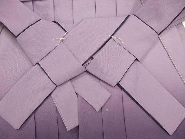 レンタル袴「紫ぼかし」 往復送料無料・半巾帯セット