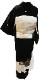 正絹黒留袖レンタルフルセット「孔雀」