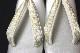 名門紗織謹製 礼装用草履「銀に金銀鼻緒」