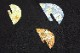 西陣織丸福織物謹製 九寸名古屋帯「楕円カスミに小花」