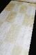 正絹の夏物紋紗着尺「京友禅 唐草の地紋に市松とストライプ」