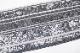 西陣織佐々木染織謹製 夏物絽九寸名古屋帯「ストライプに葡萄唐草」