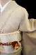正絹色留袖レンタルフルセット「相楽刺繍 橋に四季の花」