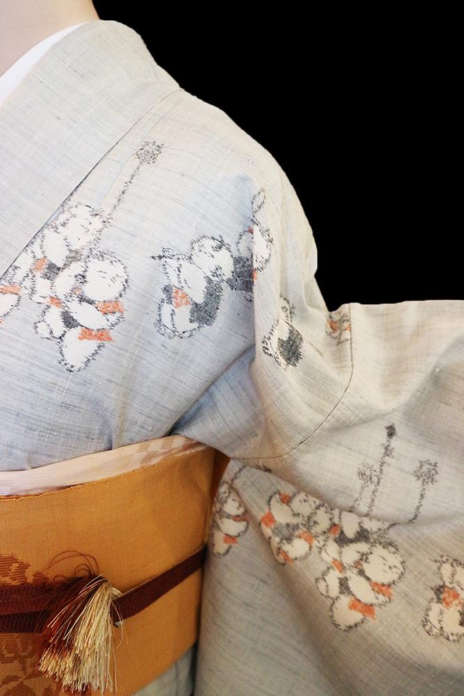 正絹紬レンタルフルセット「童子」