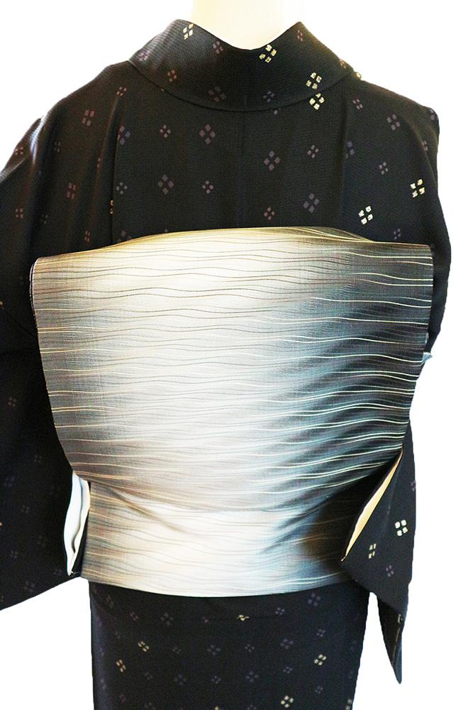 正絹小紋レンタルフルセット「菱」