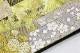 〜お茶会にお薦め〜 最高級丹後ちりめん色無地「小花」×西陣織老舗ふくい織物謹製袋帯「本漆箔 短尺に花」お仕立て付属品込