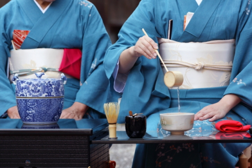 10月27日(日)  根津美術館で開催のお茶会(東京都港区)