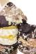 正絹訪問着 レンタルフルセット「刺繍 雲取りに亀甲四季の花」