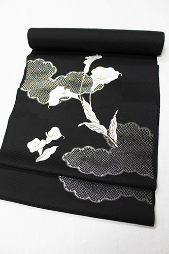 最高級九寸名古屋帯「刺繍 カラー」