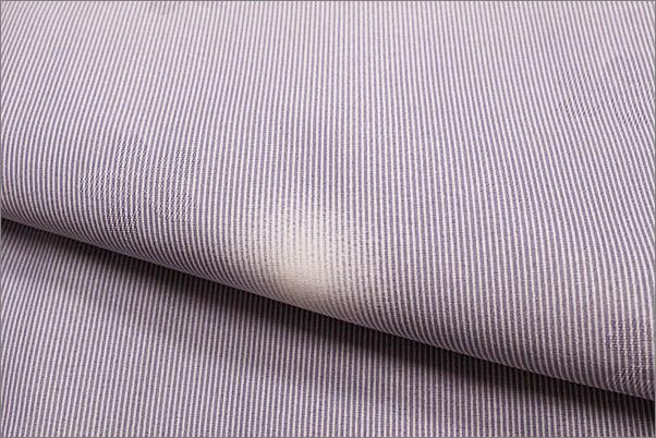 国産生地 洗える着物(袷・小紋) W-16-8.浅紫(あさむらさき)色地に蛍ぼかし柄 Lサイズ