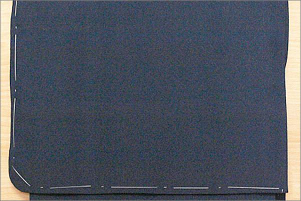 洗える袷着物 色無地 濃紺色 S/M/L/BL サイズ ・仕立て上がり