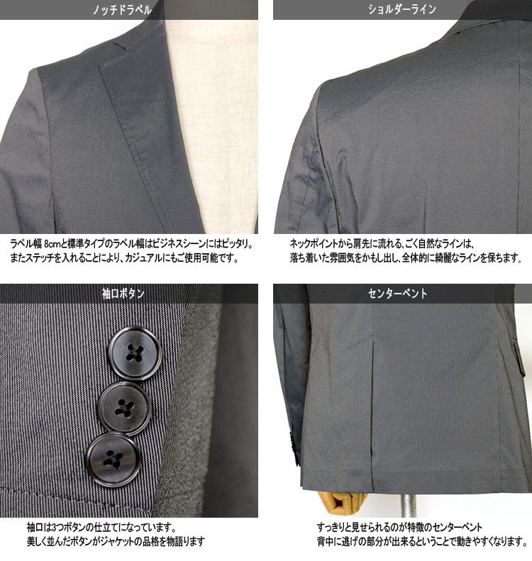 メンズジャケット ジャケット ストレッチ素材 スマートモデル ストレッチ A体 AB体 BB体 2ツボタンジャケット テーラードジャケット セットアップ ゴルフジャケット 父の日