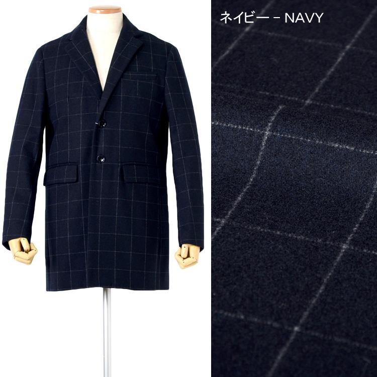 コート メンズ チェスターコート WOOLコート 撥水加工 ビジネスコート カジュアルコート M L LL 3L キャメル ブラック ネイビー