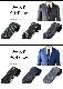 福袋 ネクタイ 2本買うと1本プレゼント 選べる色・柄 ブラック パープル グリーン ブラウン ドット ストライプ チェック