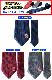 ガンダムネクタイ キャラクターネクタイ プレゼント ギフト 選べる12種 ドット ストライプ 機動戦士ガンダム gundam 父の日