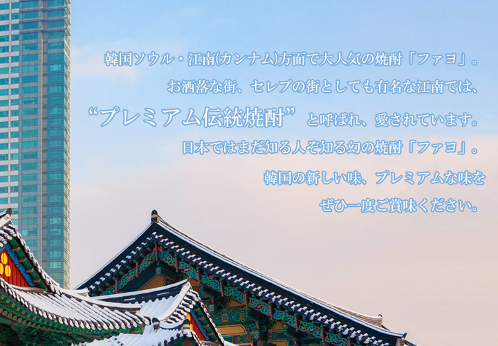 韓国焼酎 ファヨ HWAYO 25度 500ml 火堯 常温便・クール冷蔵便可