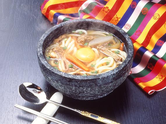 業務用・韓国うどん塩カルビスープ味8食セット 常温便・クール冷蔵便・冷凍便可 【送料無料】