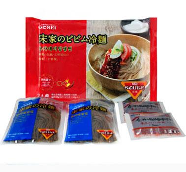 宋家のピビム麺2食セット ピビム冷麺・ピビン麺・ビビム麺 常温便・クール冷蔵便可