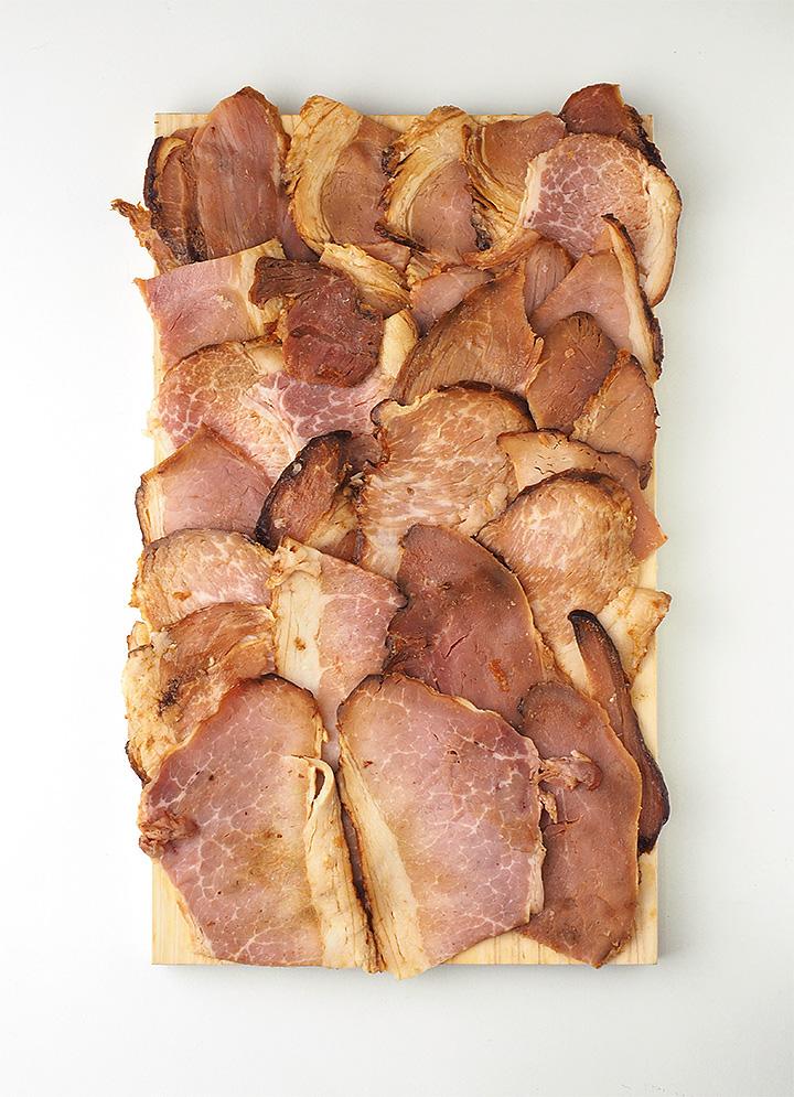 「ブロスト」の焼豚「切り落とし」200g(専門店ブロストの行列ができる逸品) 冷凍便