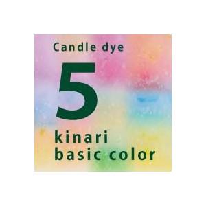 kinari ベーシックカラー染料 5色セット