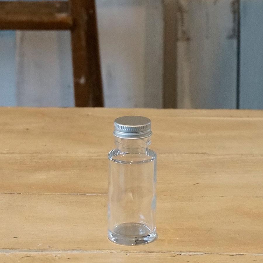 ハーバリウム瓶 ストレート50ml フタ付き【1個:10個:100個(取り寄せ)】