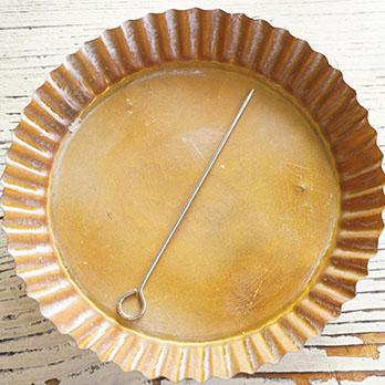 キャンドルモールド円柱(ドームトップ)タイプ(ポリカーボネイト型) 12.3cmx4.0cm