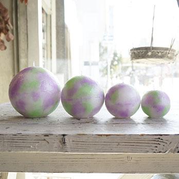 キャンドルモールドボール形(ポリカーボネイト型)直径6.5cm