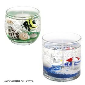 【SALE!!】アウトレット数量限定 キャンドル用 グラス バブルボールM(フィルム付)【1個】