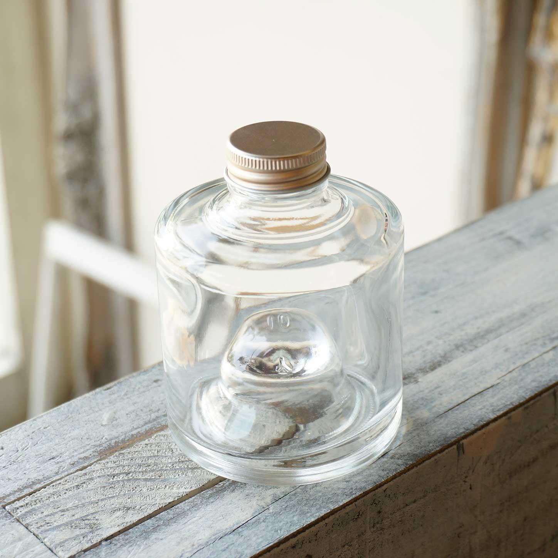 ハーバリウム瓶 スタッグ180ml フタ付き【1個:10個:24個(取り寄せ)】