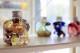 イニシャルハーバリウムボトル 1〜9(数字) 【1本・6本・12本(取り寄せ)】