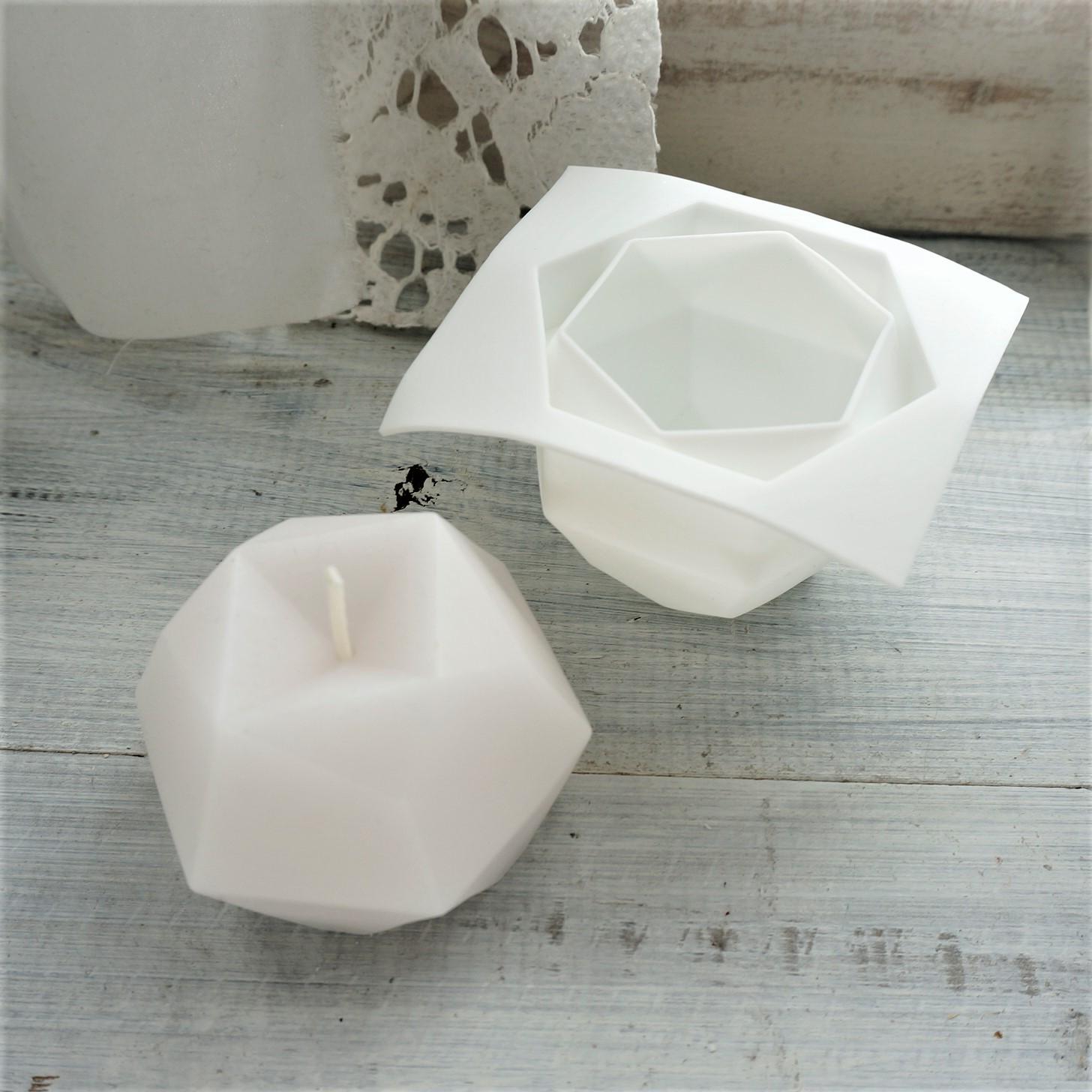 シリコンモールド ポリー型 韓国キャンドル