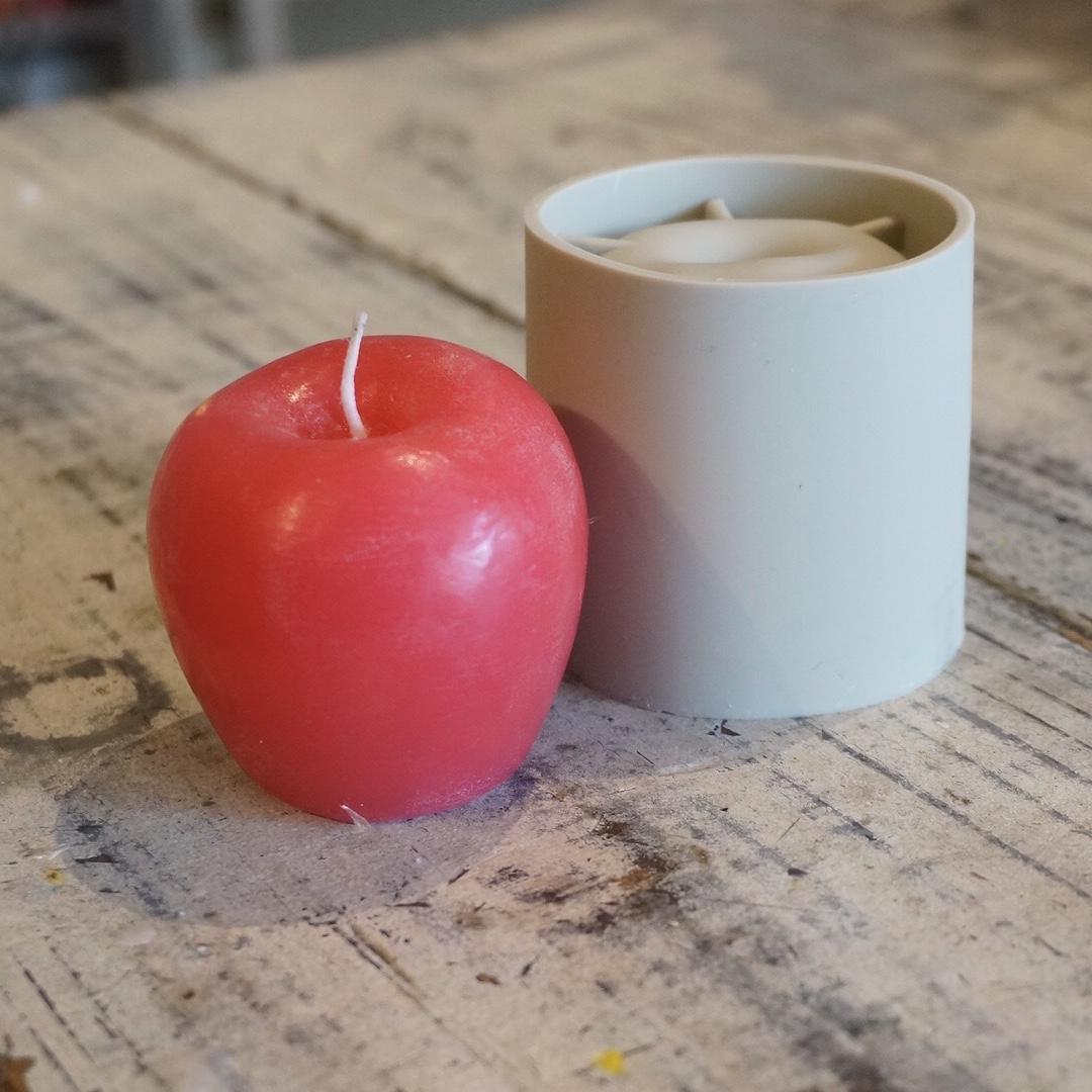 シリコンモールド りんご